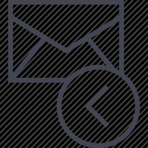 envelope, mailer, messaging icon
