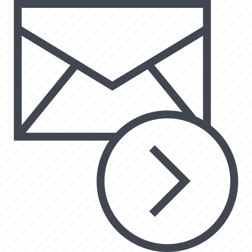email, forward, message icon