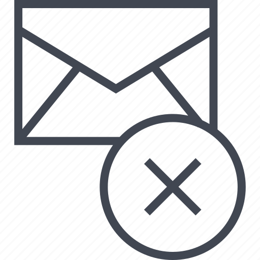 cross, mailer, messaging icon
