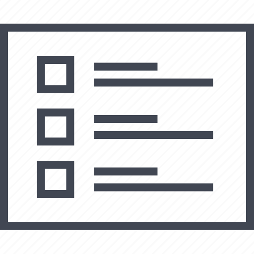 Web, layout, wireframe, lines, bullets, page icon