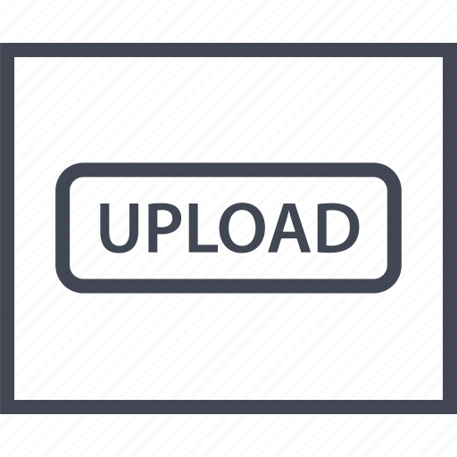 media, music, up, upload, video, wireframe icon