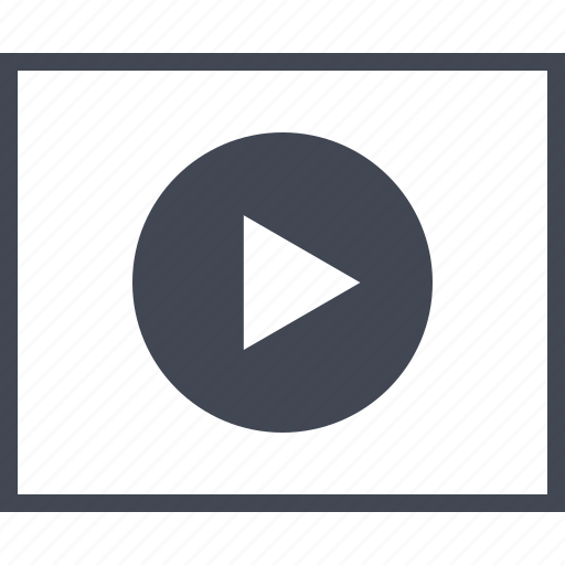 Media, page, play, video, wireframe, youtube icon - Download on Iconfinder