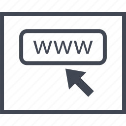arrow, click, mouse, page, track, wireframe, www icon