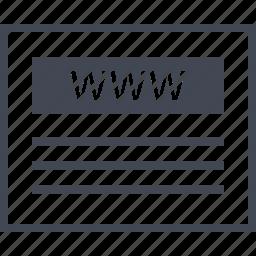 us, visit, web, website, wireframes, www icon