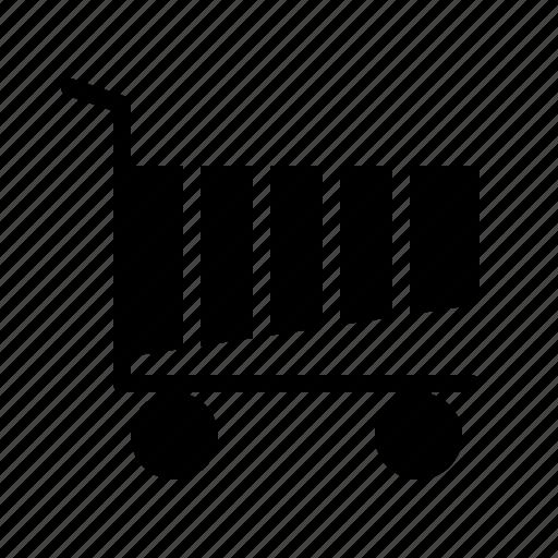 cart, computer, interface, program, user icon