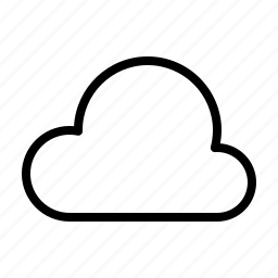 cloud, computer, interface, program, user icon