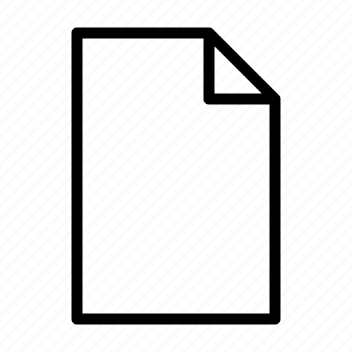 computer, document, interface, new, program, user icon