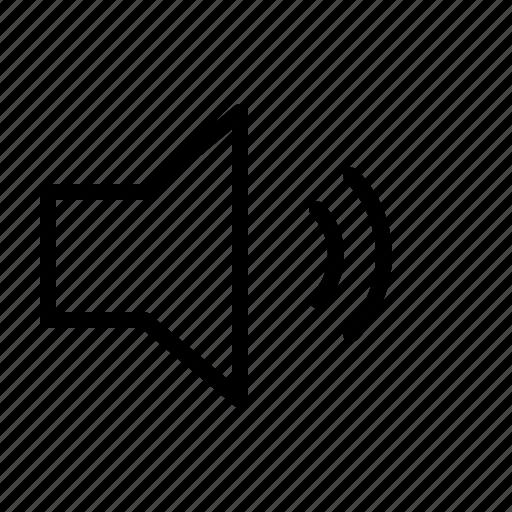computer, interface, mid, program, speaker, user, volume icon