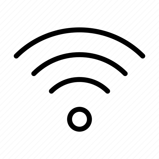 computer, full, interface, program, signal, user, wifi icon