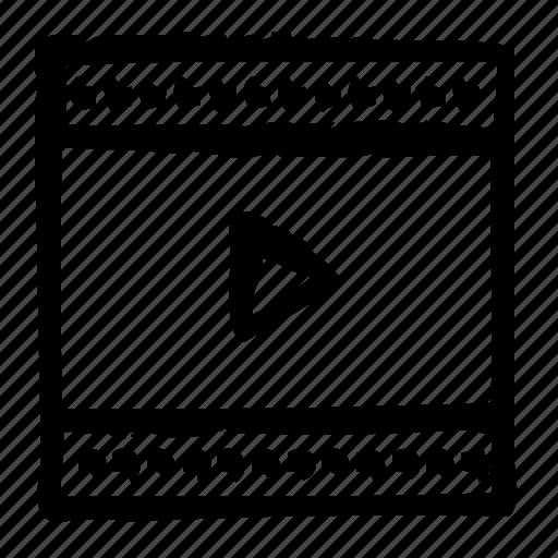 computer, interface, media, player, program, user icon