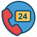 help, service, helpdesk, phone, call, operator, support icon