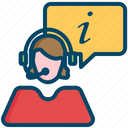 operator, support icon