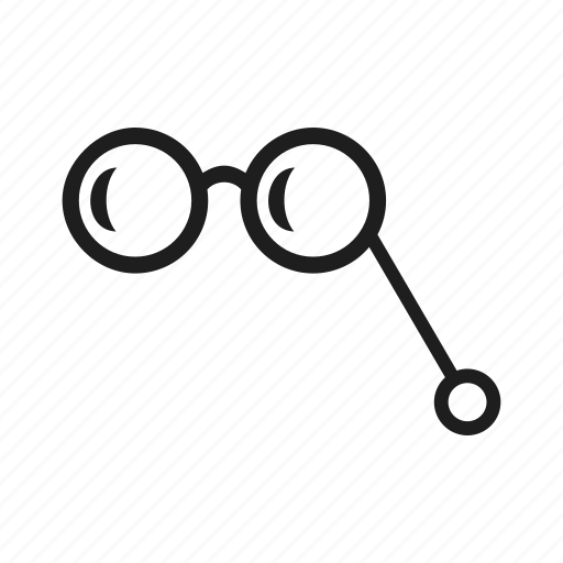 device, equipment, glasses, lorgnette, optic, optical, tool icon