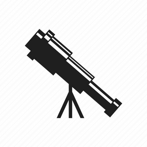 device, equipment, optic, optical, telescope, tool icon