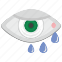eye, eyesight, health, look, pupil icon