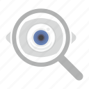 eye, eyesight, find, look, vision icon