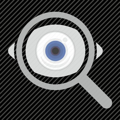 eye, eyesight, find, look, vision icon