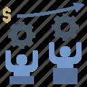 business, management, optimization, organisation, teamwork icon