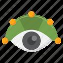 peripheral, vision, eye
