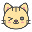 cat, cute, face, kitten, pet icon
