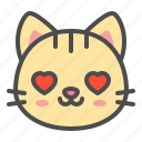 cat, cute, face, kitten, love, pet icon