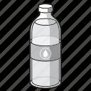 black and white, bottle, drink, soda, soda bottle, water, water bottle