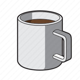 coffe mug, coffee, drink, hot chocolate, mug, tea icon