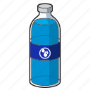 water, bottle, plastic bottle, water bottle icon