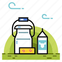 cheese, dairy, dairy product, food, milk, nutrition, products icon