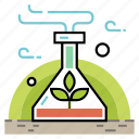 agriculture, chemical, gmo, modified, organic, plant, vegetable icon