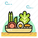 farm, food, grocery, nutrition, organic, organic food, vegetable icon