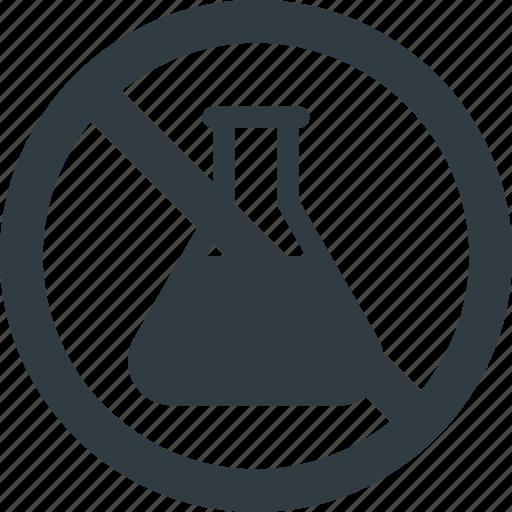 bio, chemicals, diet, free, gmo, no, organic icon