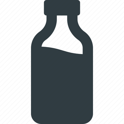 buttle, drink, milk icon