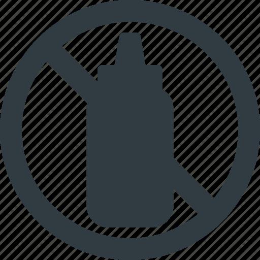 free, mustard icon