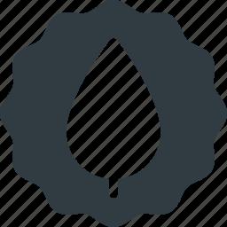 bio, eco, friendly, organic, sticker icon