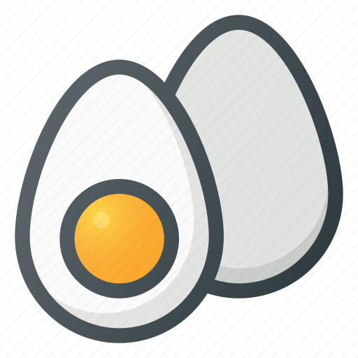 diet, eggs, food, organick icon