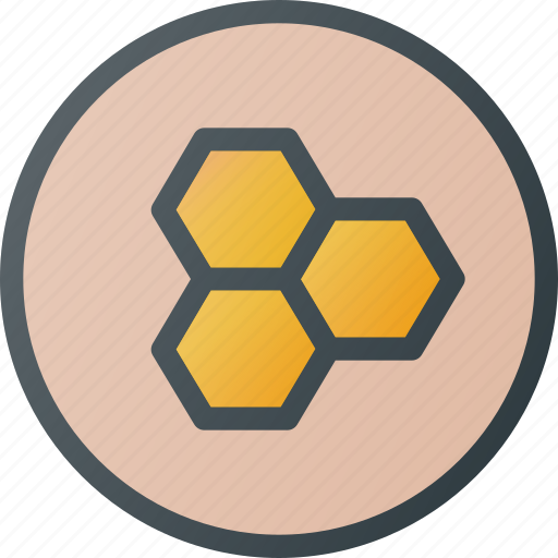 Bio, contain, food, honey, organic, tile icon - Download on Iconfinder