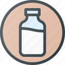 bio, contain, dairy, drink, milk icon