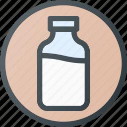 bio, contain, dairy, drink, milk icon