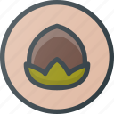 alergy, food, nut icon