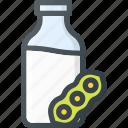 milk, soy icon