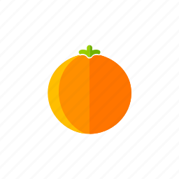 food, fresh, fruits, healthy, juice, orange, organic icon