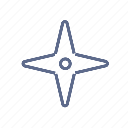 arrow, cockshot, cursor, mark, star, target icon