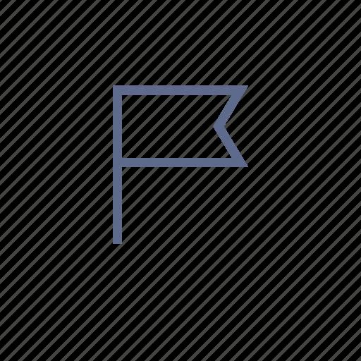banner, destination, flag, item, point icon