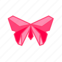bird, butterfly, fly, lep, origami, paper, paper folding icon