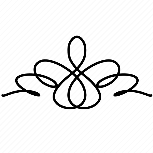 borders, curves, divider, doodle, frame, ornaments, swirls icon