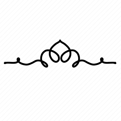 Swirl borders png for Doodly free