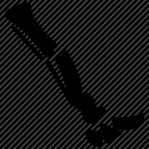 Broken leg, fractured leg, leg scan, leg xray, radiology icon - Download on Iconfinder