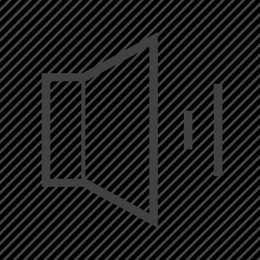 audio, sound, speaker, volume icon