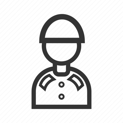 entrepreneur, guard, human, job, man, occupation, soldier icon